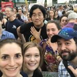 Flux at the Lights for Liberty NYC Vigil